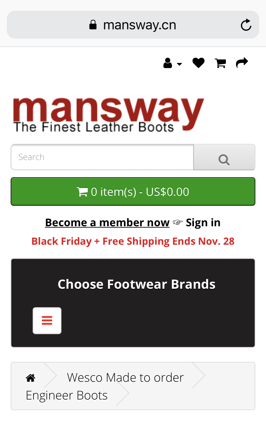 Mansway Boots