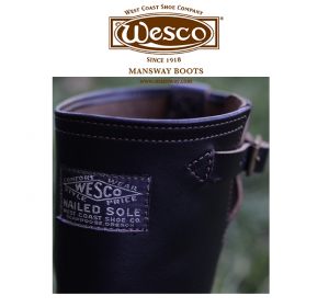 Black Horsehide - Photo by Wesco Boots