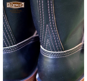 Black Horsehide = Photo by Wesco Boots