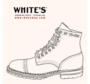 圖片來自 WHITE'S BOOTS