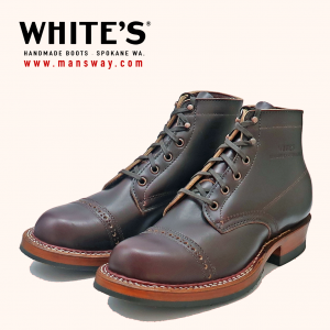 Customize your WHITE'S Boots at MANSWAY